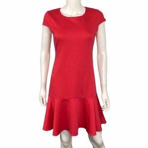 Boston Proper Pink Short Sleeve Dress Size XS